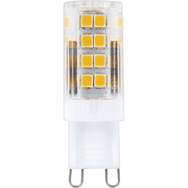 Лампа светодиодная G9 5Вт Feron 4000К прозрачный