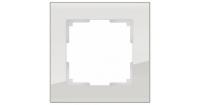 WERKEL FAVORIT Рамка на 1 пост (дымчатый, стекло) WL01-Frame-01