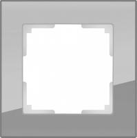 WERKEL FAVORIT Рамка на 1 пост (серый, стекло) WL01-Frame-01