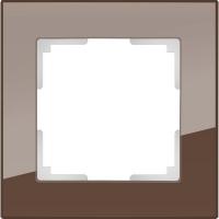 WERKEL FAVORIT Рамка на 1 пост (бронза, стекло) WL01-Frame-01