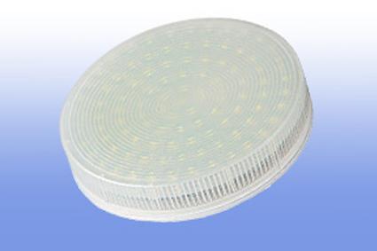 Лампа светодиодная GX53  6Вт EcolaTablet 2800K эконом 27х75 матовый