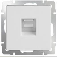WERKEL Розетка телефонная RJ-11 (белая) WL01-RJ-11