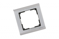 WERKEL METALLIC Рамка на 1 пост (глянцевый никель) WL02-Frame-01