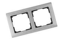 WERKEL METALLIC Рамка на 2 поста (глянцевый никель) WL02-Frame-02