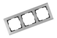 WERKEL METALLIC Рамка на 3 поста (глянцевый никель) WL02-Frame-03