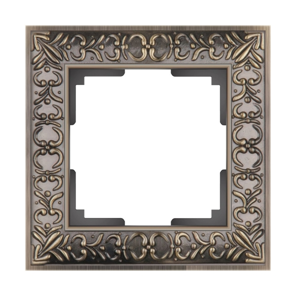 WERKEL ANTIK Рамка на 1 пост (бронза металл) WL07-Frame-01