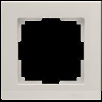 WERKEL STARK Рамка на 1 пост (слоновая кость) WL04-Frame-01