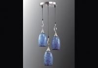 Люстра Н Мозаика C9897/3 BLUE (голубой)