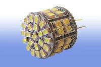 Лампа светодиодная G4 12V 5Вт DC 50LEDs 3014 cool white