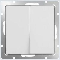 WERKEL Выключатель 2-кл. проходной (белый) WL01-SW-2G-2W