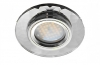 Св-к Ecola DL1654 MR16 стекло круг гранен. хром/хром