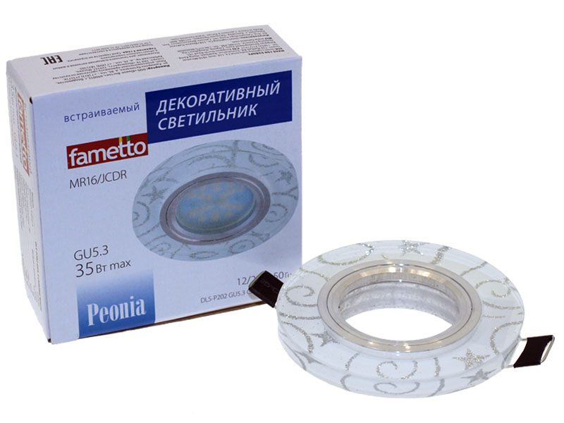 Св-к Fametto P202 хром/белый
