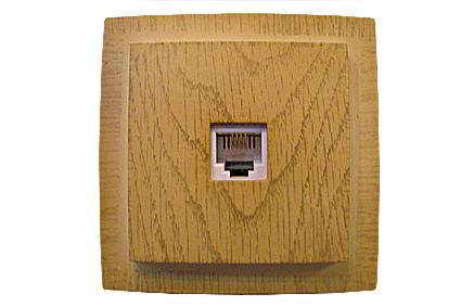 Nilson Themis клён розетка комп. RJ45