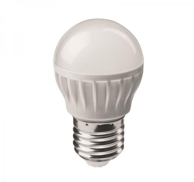 Лампа светодиодная Volpe E27  8Вт шар матовая 3000К