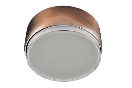 Светильник Ecola GX70 накладной G16 сатин хром