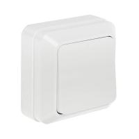 InHome BOLETTO белый выкл. 1кл. 7021 10А