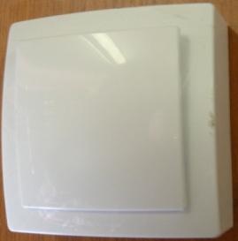 Nilson Themis белый выкл. 1кл. 10А
