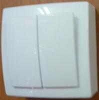 Nilson Themis белый выкл. 2кл. 10А