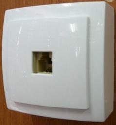 Nilson Themis белый розетка телеф. RJ11