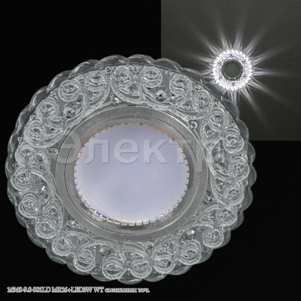 Св-к Электра 14348-9.0-001LD MR16 + LED WT
