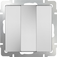 WERKEL Выключатель 3-кл. (белый)