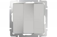 WERKEL Выключатель 3-кл. (слоновая кость) WL03-SW-3G-ivory
