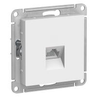 SchE AtlasDesign белый мех-зм розетки комп. RJ45
