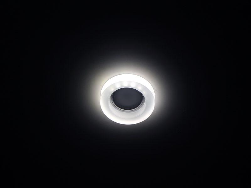 Св-к Fametto L110 LED хром/матовый Распродажа!