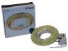 Св-к Feron CD904+LED желтый/хром Распродажа!