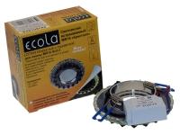 """Св-к Ecola LED LD7009 MR16 """"Кристалл"""" прозрачный/черный/хром"""