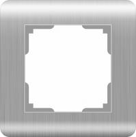 WERKEL Stream Рамка на 1 пост (серебряный) WL12-Frame-01