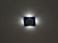 Св-к Italmac Bohemia LED 51871 MR16 кв черный (25442) Распродажа!