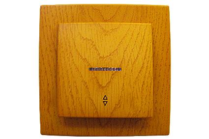 Nilson Touran Дуб Выключатель 1кл. проходной+свет