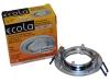 Св-к Ecola DL39 MR16 повор. серебрянный блеск/хром