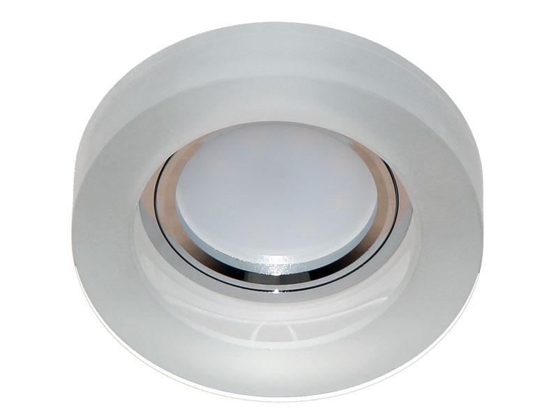 Св-к Italmac Bohemia 512375 MR16 глубокий круг молочно-белый
