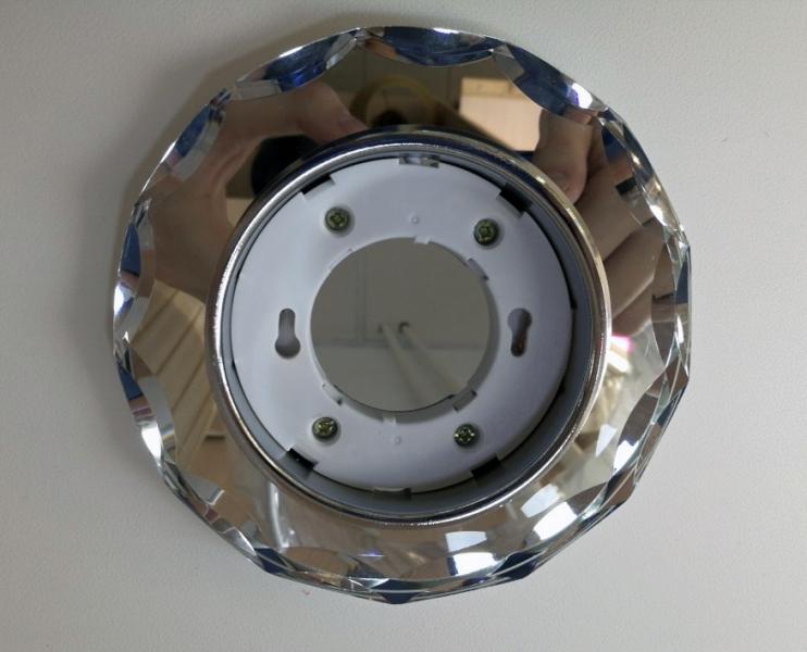 Светильник Italmac Bohemia 53370 GX53 прозрачный с подсветкой