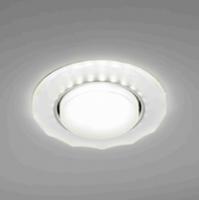 Светильник Italmac Bohemia 53375 GX53 матовый с подсветкой