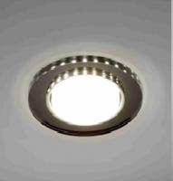 Светильник Italmac Bohemia 53571 GX53 черный с подсветкой