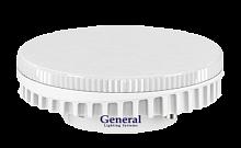 Лампа светодиодная GX53  7Вт General 6500K Распродажа!