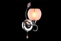 Бра Цветная классика 3457/1 хром/розовый