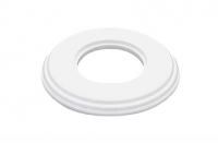 BIRONI белый пластик рамка 1мест.