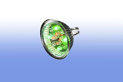 Лампа светодиодная MR16 220V 2Вт Elvan мультиколор (закрытая)