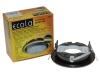 Светильник Ecola GX53 H4 черный хром золото черный хром