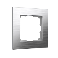 WERKEL Aluminium Рамка на 1 пост (алюминий) WL11-Frame-01