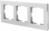 WERKEL Aluminium Рамка на 3 поста (алюминий) WL11-Frame-03