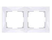 WERKEL Snabb Basic Рамка на 2 поста (белый) WL03-Frame-02