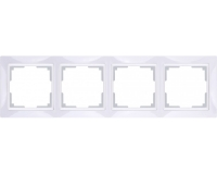WERKEL Snabb Basic Рамка на 4 поста (белый) WL03-Frame-04