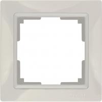 WERKEL Snabb Basic Рамка на 1 пост (слоновая кость) WL03-Frame-01