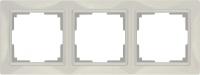 WERKEL Snabb Basic Рамка на 3 поста (слоновая кость) WL03-Frame-03