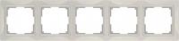 WERKEL Snabb Basic Рамка на 5 постов (слоновая кость) WL03-Frame-05